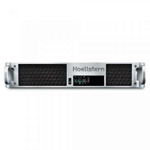 * PRICE ON REQUEST - Hoellstern 2 channel amplifier with integrated loudspeaker management DELTA 12.2-DSP, IN: 2 IN | OUT: OUT 2