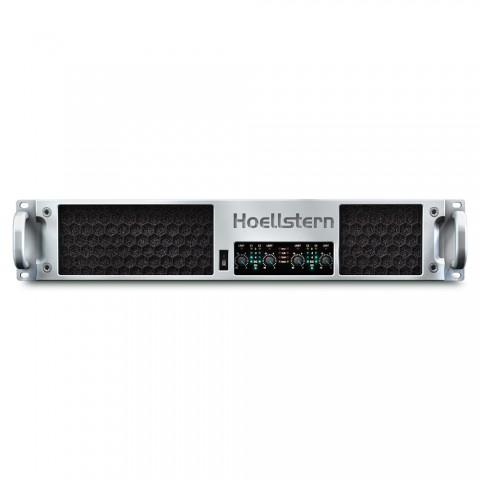 * PREIS AUF ANFRAGE - Hoellstern 4 Kanal Verstärker DELTA12.4, IN: 4 IN   OUT: 4 OUT