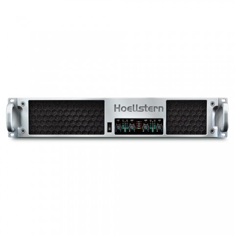 * PRICE ON REQUEST - Hoellstern 4 channel amplifier with integrated loudspeaker management DELTA 12.4-DSP, IN: 4 IN | OUT: OUT 4
