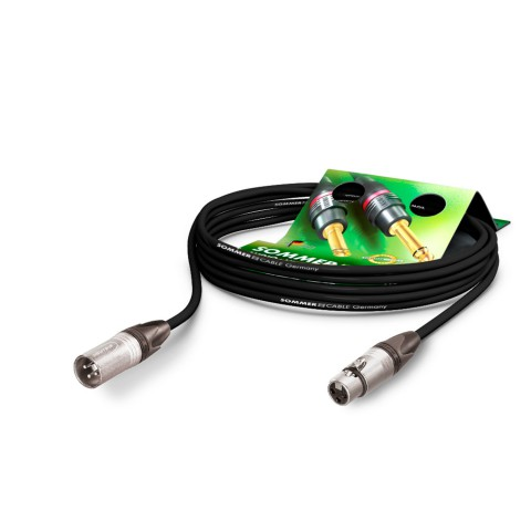 Mikrofonkabel SC-SEMICOLON PUR, 4 x 0.14 mm² | XLR / XLR, NEUTRIK®