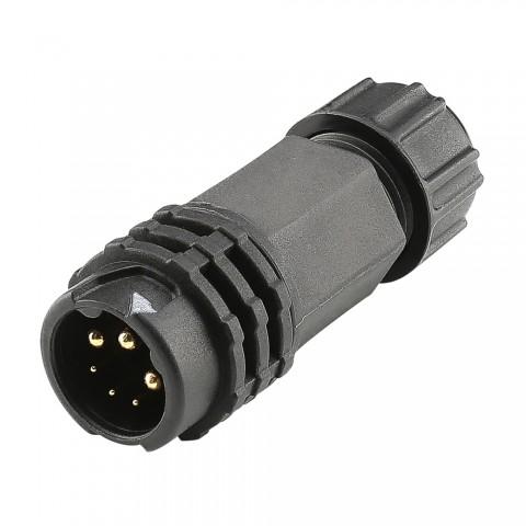 eventCON , IP67 , 3-pole male connector, straight