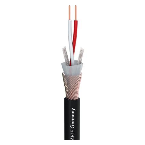 DMX Binary 234 AES/EBU MKII; 2 x 0,34 mm²; PVC Ø 6,20 mm; schwarz