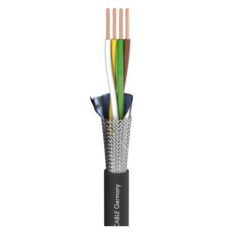 DMX Binary 434 DMX512; 4 x 0,34 mm²; PVC Ø 7,00 mm; schwarz