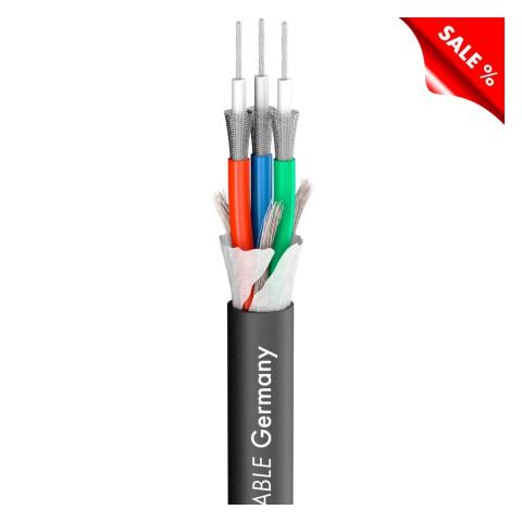 Videokabel Transit MINI Flex; 1 x 0,32; Antistatic-PVC Ø 8,20 mm; schwarz