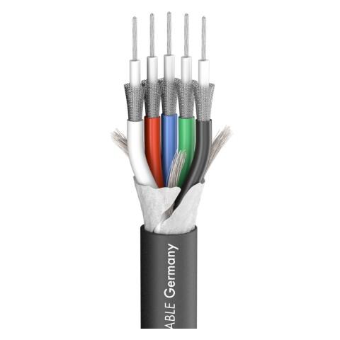 Videokabel Transit MINI Flex; 1 x 0,32; Antistatic-PVC Ø 9,60 mm; schwarz