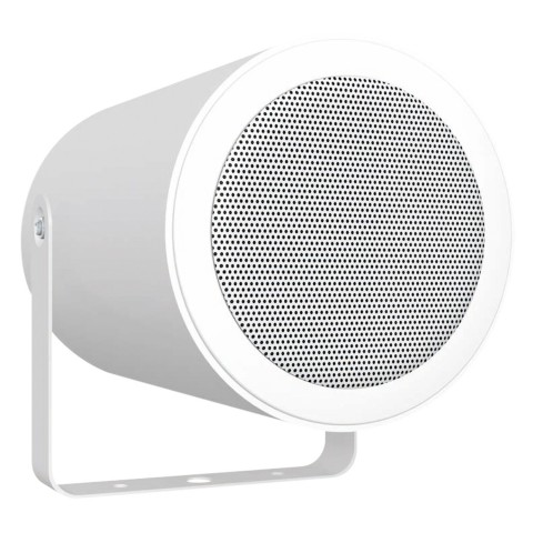 CARDINAL DVM Speaker in aluminium housing with clamp / certified acc. EN 54-24