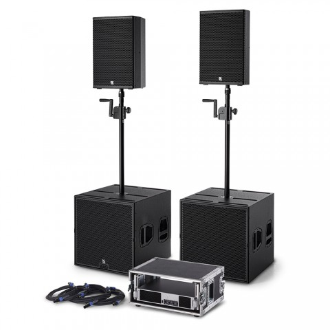 * PREIS AUF ANFRAGE - ProAudio MT12-1 Plug & Perfect Play PA-System