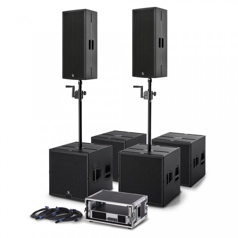 * PREIS AUF ANFRAGE - ProAudio TX20 Clubset-TX Plug & Perfect Play PA-System