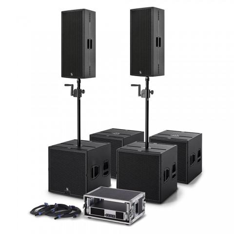 * PREIS AUF ANFRAGE - ProAudio TX20 Clubset-TX Plug & Perfect Play PA-System