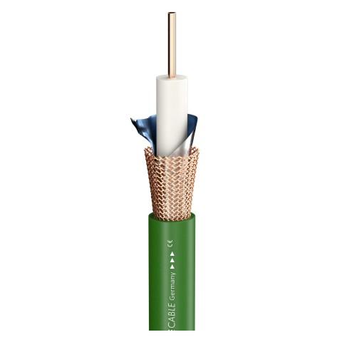 Videokabel SC-Vector Plus RCB 1.6L/7.0; 1 x 1,60; PVC Ø 10,20 mm; 75 Ω; grün