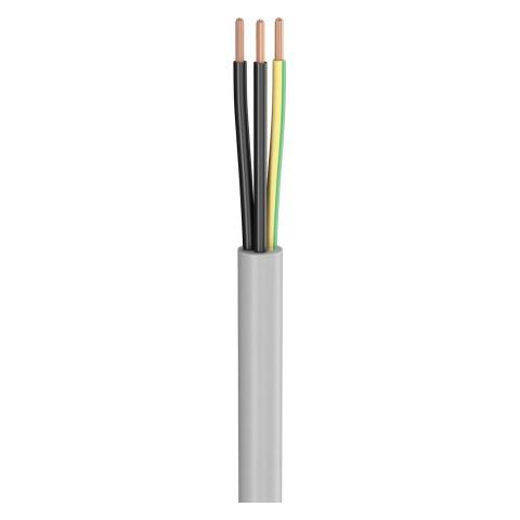 Last-Multicore SC-Atrium Flex; 3 x 2,50 mm²; PVC, Ø 8,30 mm; grau
