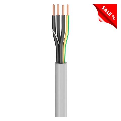 Last-Multicore SC-Atrium Flex; 4 x 2,50 mm²; PVC, Ø 9,10 mm; grau