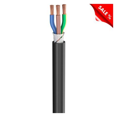 Gummischlauchleitung SC-Rubberflex; 3 x 10,00 mm²; Gummi, Ø 21,00 mm; schwarz