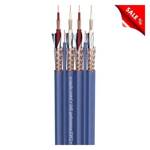 NF-Phonokabel SC-Aquila Control; 4 x 0,14 mm²; 2 x 0,14 mm²; PVC; blau