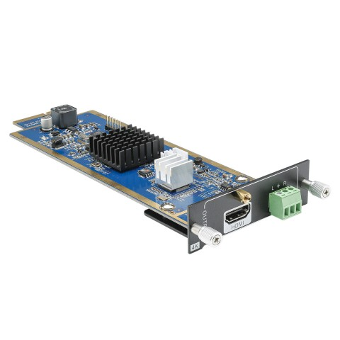 CARDINAL DVM HDMI output card for DVM Modular Matrix | OUT: Audio Out 3 pin analog/HDMI