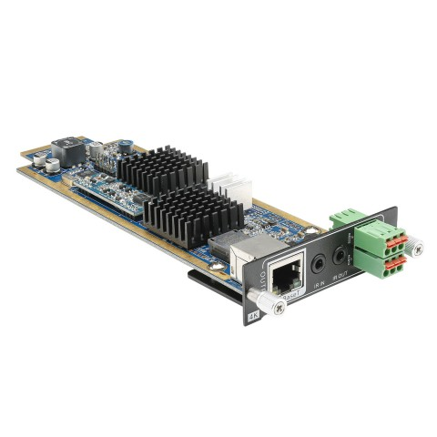 CARDINAL DVM HDBaseT output card for DVM Modular Matrix | OUT: IR In&Out (2 x 3.5mm Jack)/Audio Out 3 pin analog/RS232 interface/HDBaseT Output