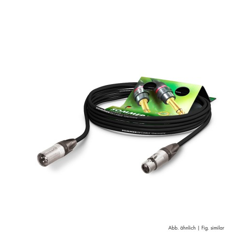 Mikrofonkabel Stage 22 Highflex, 2 x 0.22 mm² | XLR / XLR, NEUTRIK®