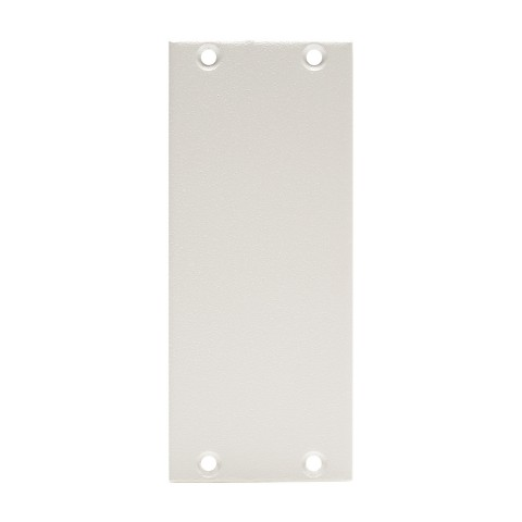 front panel blank panel, 2 HE, 1 BE for SYS-series