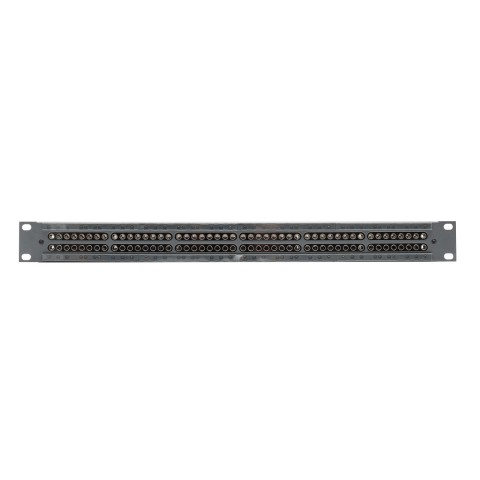 Sommer cable Rack panel, universal D series, Surface RAL 7016 fine structure, 1 HE, Sheet steel, tin-plated 1.5mm, anthracite