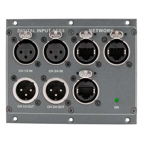 AES/ethernet splitter