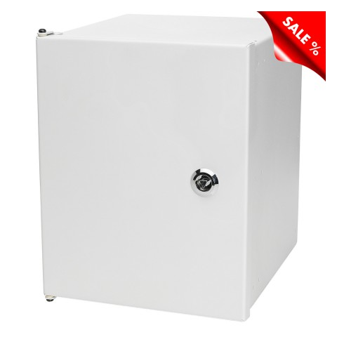 SYSBOARD Modular Wall Housing for SYSBOXX-Module, width: 237 mm, height: 298 mm, light grey, RAL 7035