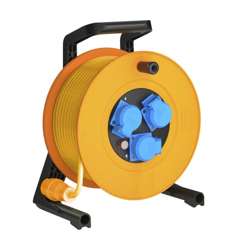 Load cable reel ip54 IP54 Baustellentrommel, 3 x 2,50 mm² | Schuko / Schuko