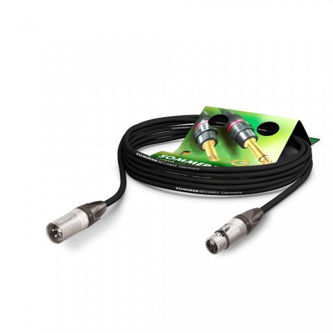 Mikrofonkabel Stage 22 Highflex, 2 x 0,22 mm² | XLR / XLR, NEUTRIK