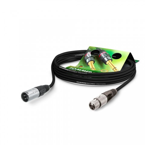 Mikrofonkabel Club Series MKII, 2 x 0,34 mm² | XLR / XLR, NEUTRIK