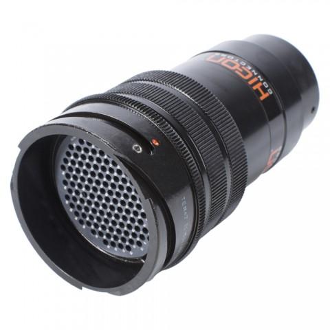 HICON  Round LK, arrangement 40A-150, size 18, 150-pol , metal-, Cable connector, Bajonet, black