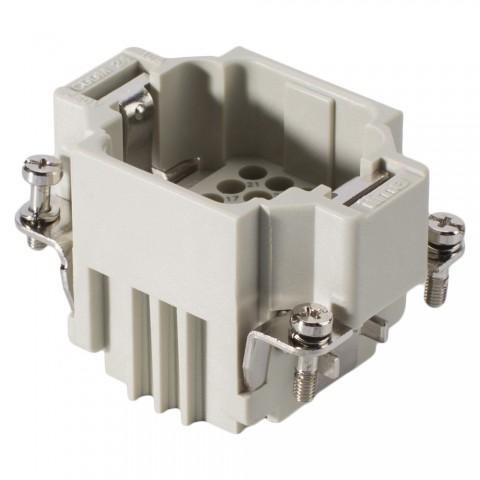 ILME  Rectangular MP 06, 24-pole , Contact Insert, grey