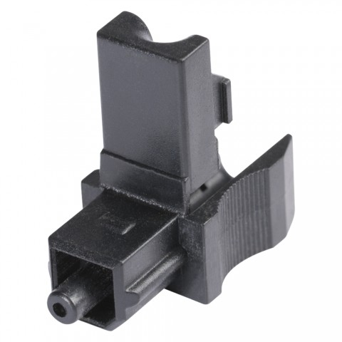 Hicon POF-732 Adapter TOSLINK male//TOSLINK female abgewinkelt HiFi  Stecker
