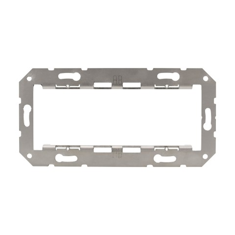Double installation frame , scale: 50x50 mm, stainless steel