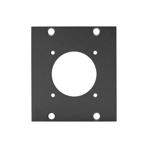 Side panel LK37-Hole, 2 HE; depth: 80 mm for SYSBOXX, colour: anthracite, RAL 7016