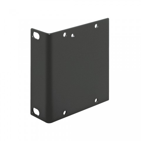 Seitenblech Leerblech mit Rackohr, 2 HE; Tiefe: 80 mm für SYSBOXX, Farbe: anthrazit, RAL 7016