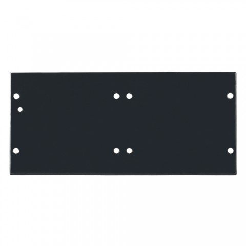 Side panel blank panel, 4 HE; depth: 80 mm for SYSBOXX, colour: anthracite, RAL 7016
