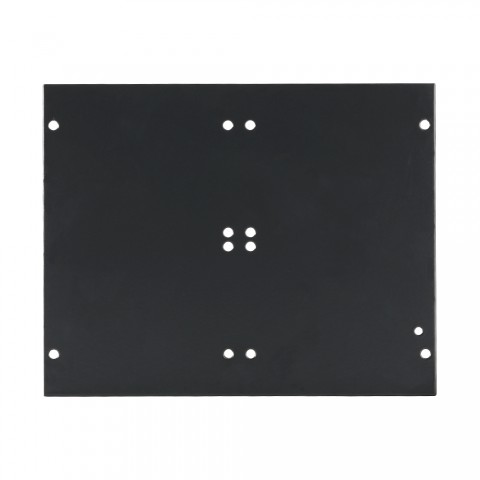Side panel blank panel, 4 HE; depth: 140 mm for SYSBOXX, colour: anthracite, RAL 7016