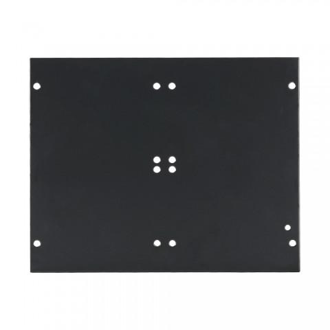 Seitenblech Leerblech, 4 HE; Tiefe: 140 mm für SYSBOXX, Farbe: anthrazit, RAL 7016
