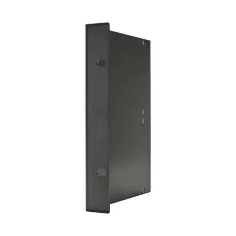 Side panel Side panel with rack angle, 4 HE; depth: 140 mm for SYSBOXX, colour: anthracite, RAL 7016