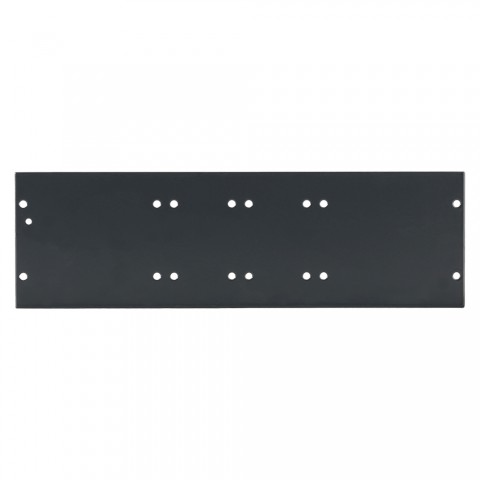 Side panel blank panel, 6 HE; depth: 80 mm for SYSBOXX, colour: grey