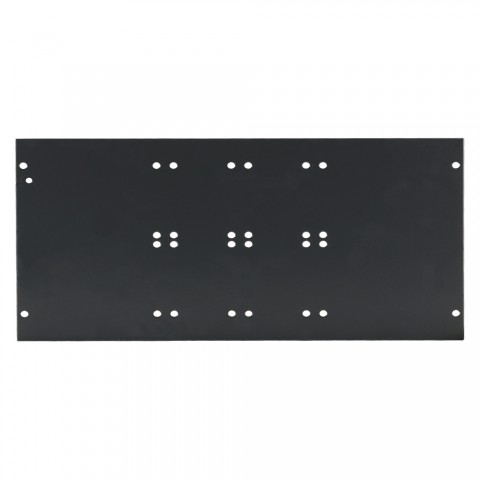 Side panel blank panel, 6 HE; depth: 140 mm for SYSBOXX, colour: grey