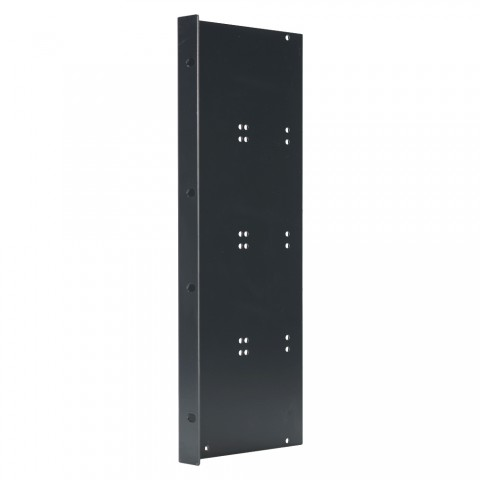 Side panel , 8 HE; depth: 140 mm for SYSBOXX, colour: anthracite, RAL 7016