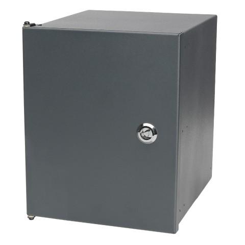 Modulares Wandgehäuse, 6 HE für SYSBOXX-Module, Breite: 220 mm, Höhe: 267 mm, anthrazit, RAL 7016