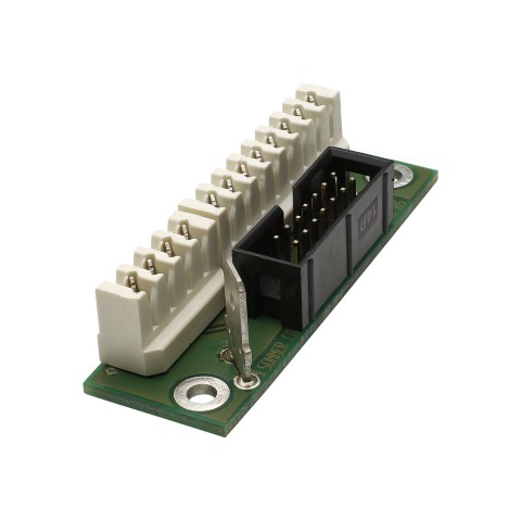 Breakout-Module , 1 HE, 3 BE, 12 LSA -> 14-pole blade terminal-, for SYS-series