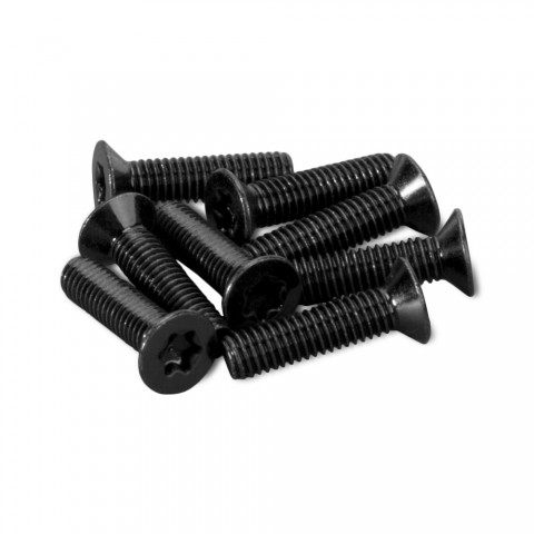 screw, M3 x 12 counter screws, Torx 10, PU: 25 pcs. for D-Series, black