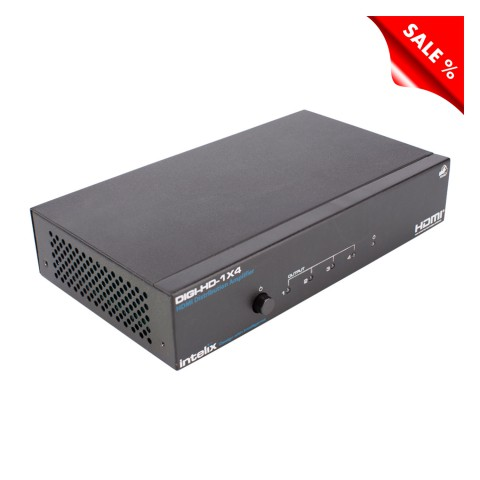 INTELIX HDMI splitter, HDMI splitter, IN: HDMI   OUT: 4 x Twisted Pair