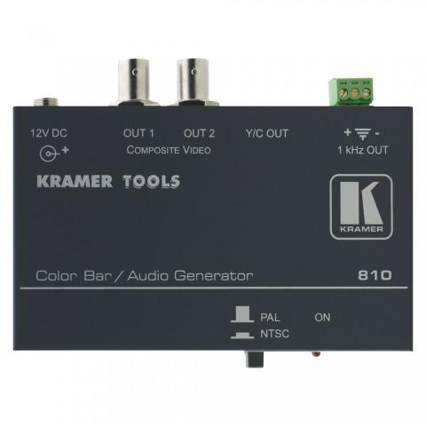 KRAMER , Signalgenerator | OUT: 2xBNC (FBAS, Y/C) +  3xKlemme (Audio)