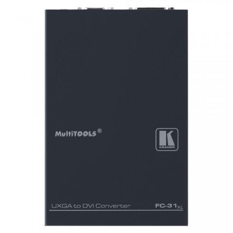 KRAMER , Formatwandler, IN: DSUB15 | OUT: DVI-D, B x H x T: 107 mm x 40 mm x 159 mm