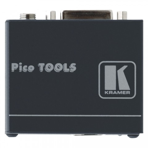 KRAMER , DVI Transmitter, IN: DVI-D | OUT: RJ45, B x H x T: 62 mm x 24 mm x 52 mm
