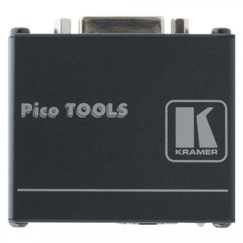 KRAMER , DVI Receiver, IN: RJ45 | OUT: DVI-D, B x H x T: 62 mm x 24 mm x 52 mm