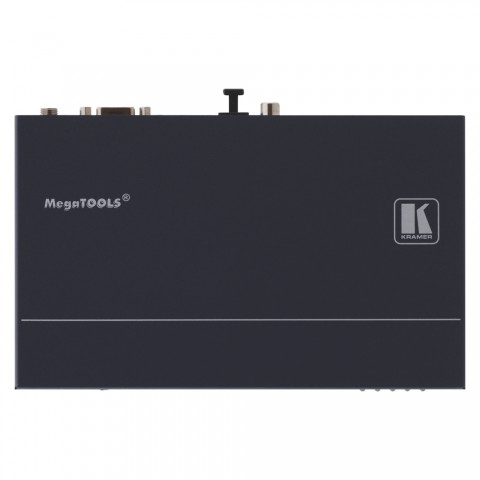 KRAMER , HDMI TP Receiver, IN: RJ45   OUT: S/PDIF (RCA)/TOSLINK/RS232 (D9f)/RJ45/2 x HDMI, B x H x T: 188 mm x 24 mm x 114 mm